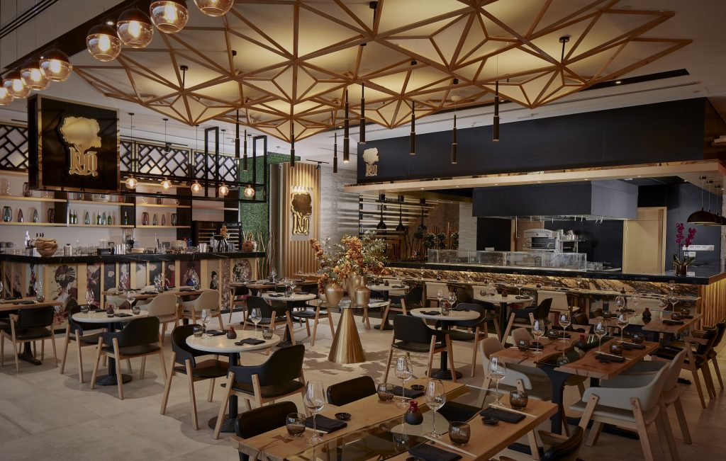 المطعم الياباني كيو في ذا بوينت
