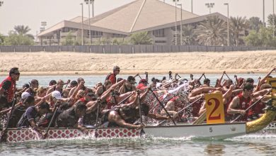 Photo of تحدي قوارب التنين في مرسى بلازا الخور