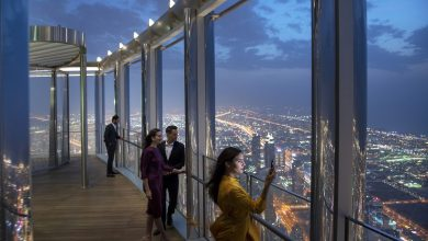 Photo of تعرف على ذا لاونج برج خليفة أعلى ردهة في العالم