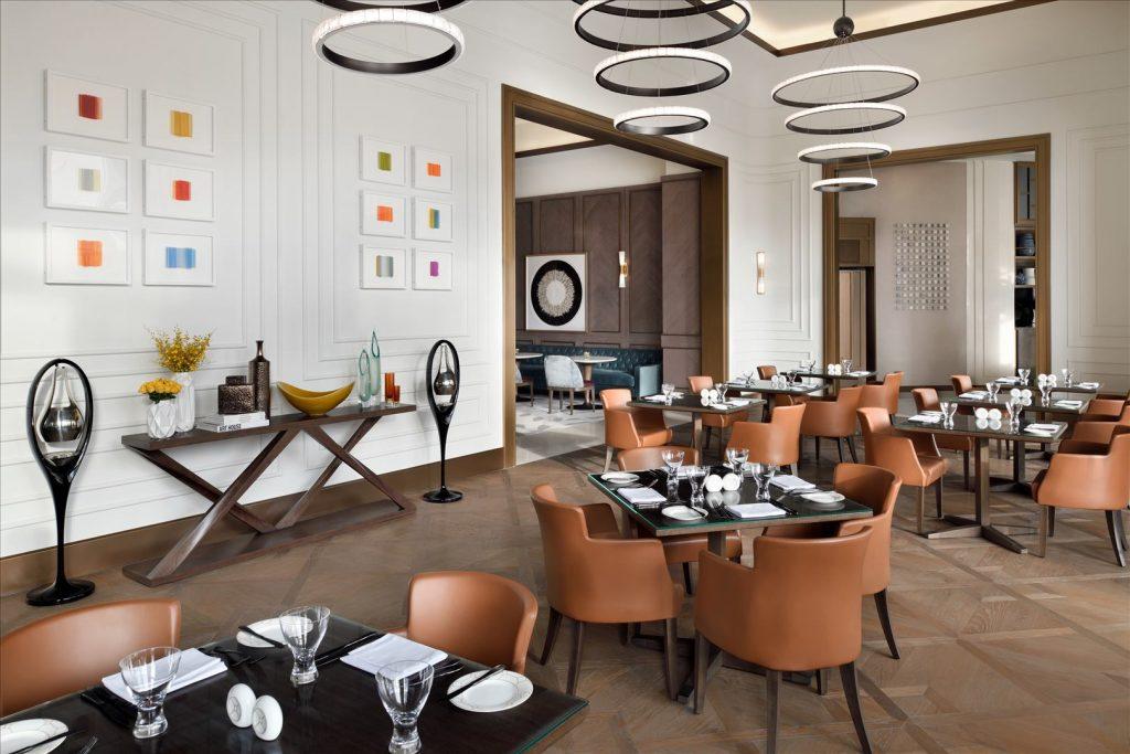 مطعم ذا ريستورانت في فندق العنوان وسط المدينة