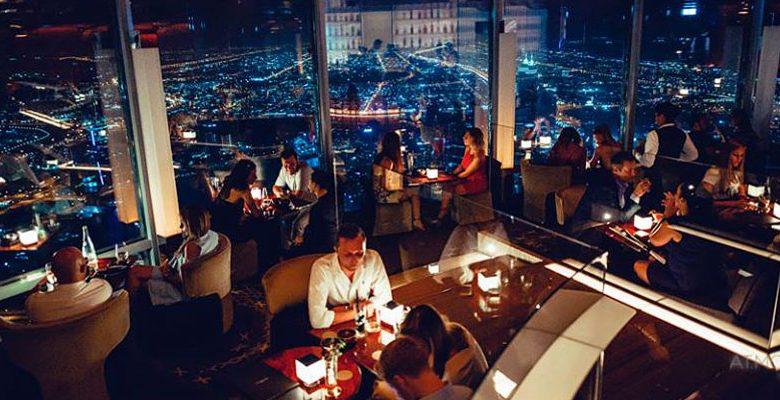 5 بارات ومطاعم في دبي بارتفاع 40 طابق على مستوى الأرض