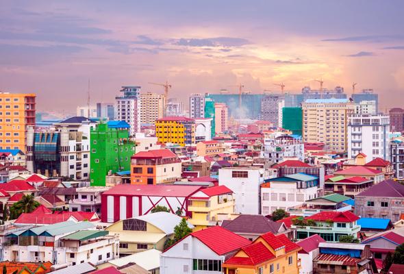 بنوم بنه عبر بانكوكPhnom Penh via Bangkok