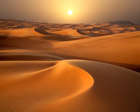 الكثبان الصحراوية dunes desert