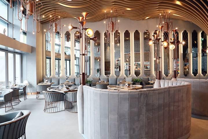 مطعم والنت غروف في دبي مول