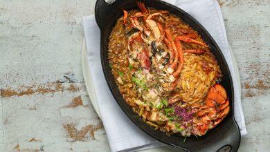 Photo of طبق أورزو الكركند من مطعم أوبا اليوناني