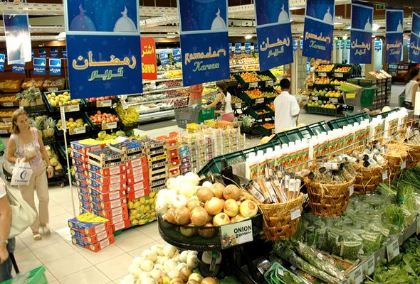 محلات السوبر ماركت في دبي