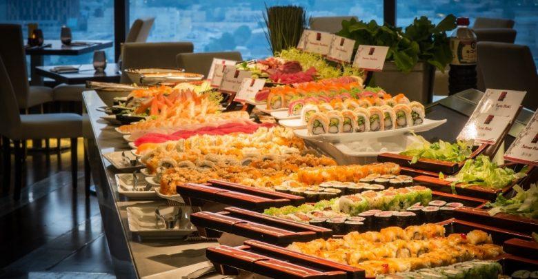 مطعم توشي في جراند ميلينيوم دبي مرتفعات البرشاء