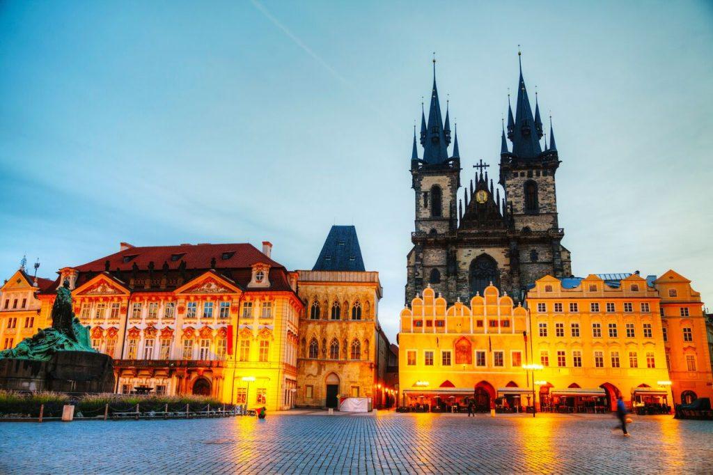 براغ في جمهورية التشيك