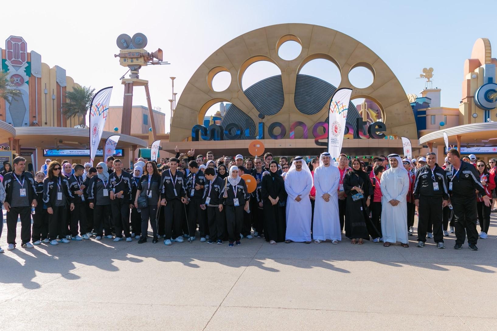 دبي باركس آند ريزورتس تستضيف أبطال الأولمبياد الخاص في موشنجيت دبي (1)