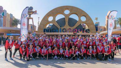 صورة دبي باركس آند ريزورتس تمنح تجربة رائعة لأكثر من 4,000 بطل أولمبياد