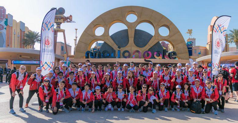 دبي باركس آند ريزورتس تمنح تجربة رائعة لأكثر من 4,000 بطل أولمبياد