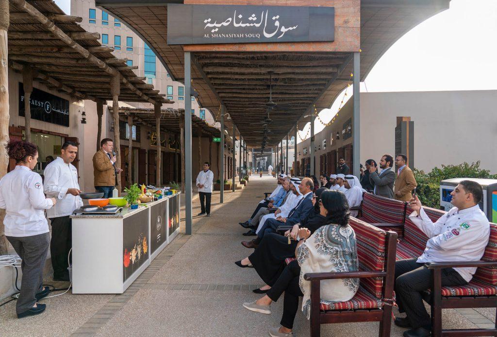متجر آشا للبهارات يفتتح ابوابه في سوق الشناصية بقلب الشارقة
