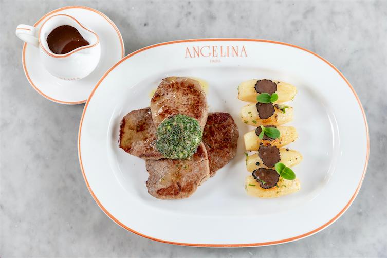 قائمة طعام جديدة من مطعم أنجلينا