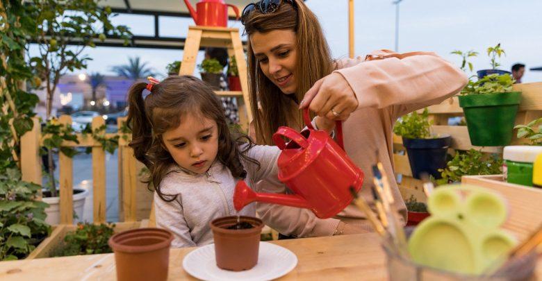 بوكس بارك يعلم الأطفال طرق الزراعة العضوية والأكل الصحي في دبي
