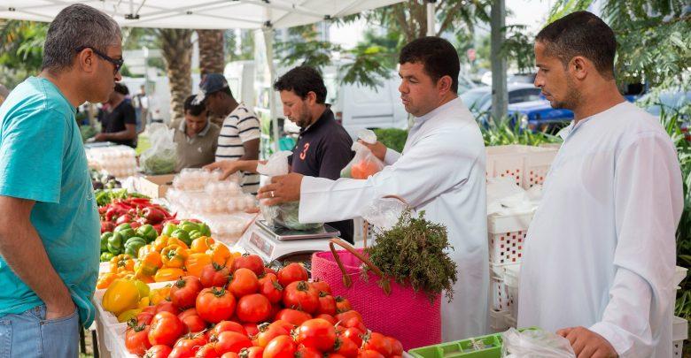 دبي تستضيف النسخة العاشرة من سوق المزارعين فارمرز ماركت