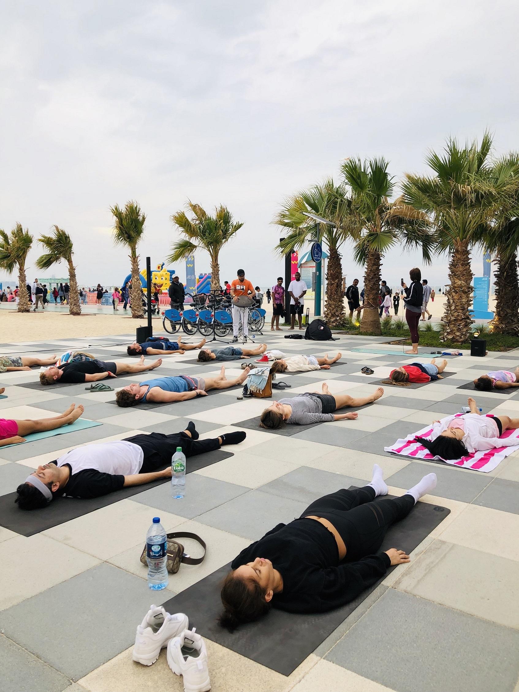 كايت بييتش تنظم جلسات رياضية مجانية خلال مهرجان دبي للمأكولات 2019
