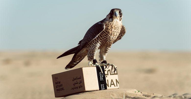 ec17481df متجر نمشي تقدم خدمة توصيل الطلبات بالصقور - عين دبي