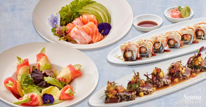 قائمة الطعام الجديدة من مطعم سومو سوشي آند بينتو احتفالأً بالصيف