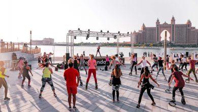 صورة ذي بوينت بنخلة جميرا ينظم مجموعة من أنشطة اللياقة البدنية