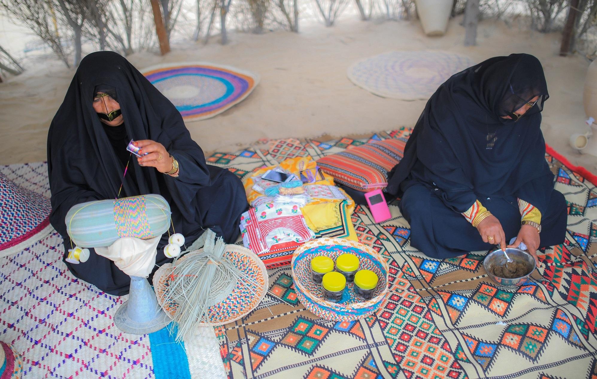 لا تفوت تجربة الحياة البدوية في المرموم