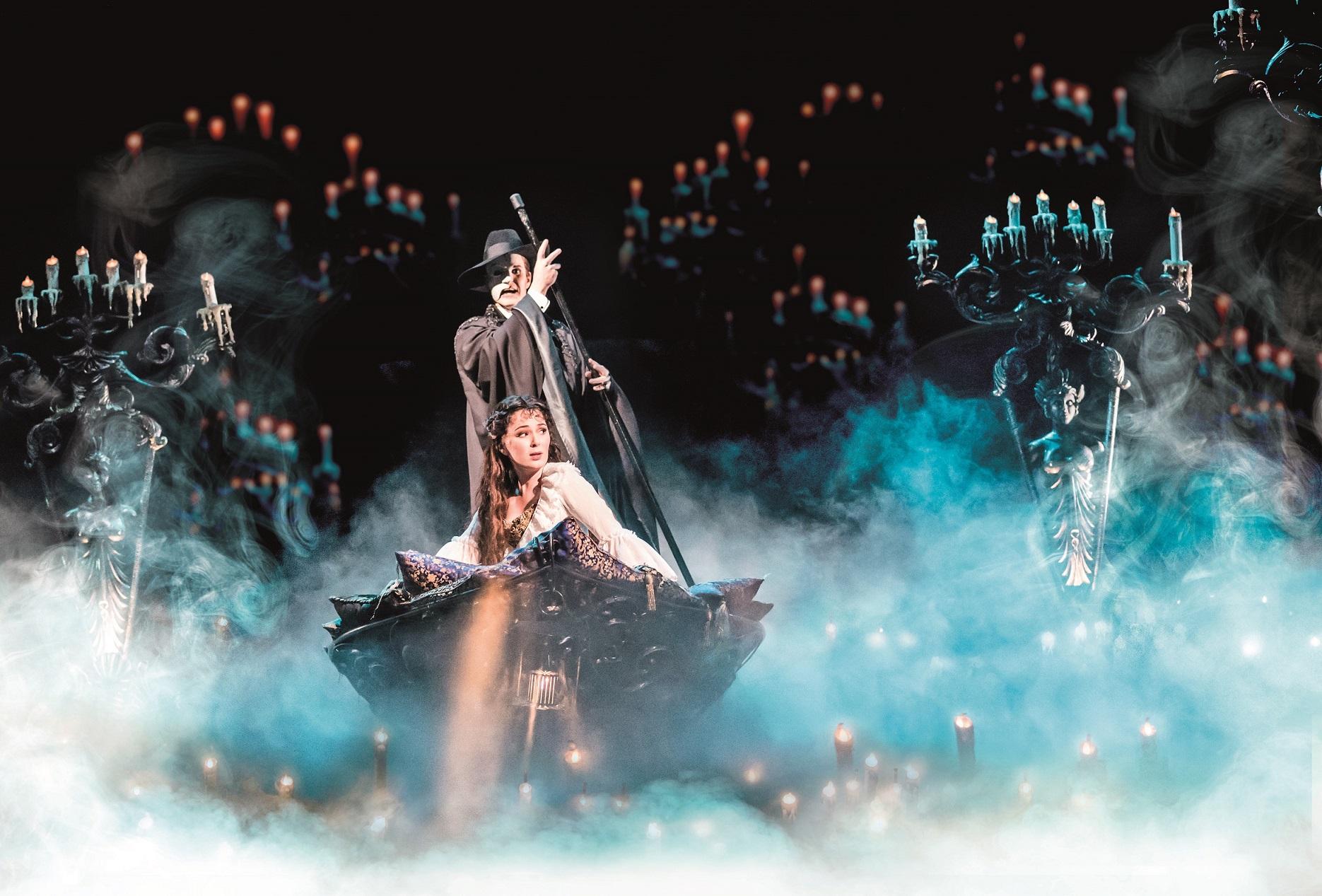 دبي أوبرا تستضيفالمسرحية الغنائية ذا فانتوم أوف ذا أوبرا
