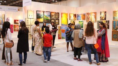 صورة جدول فعاليات دبي خلال موسم دبي الفني 2019