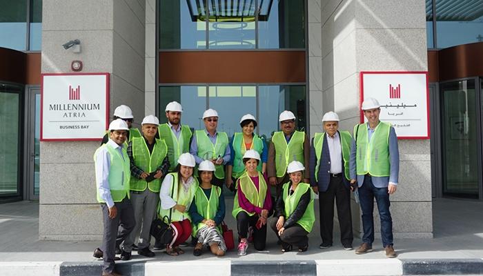 إفتتاح فندق ميلينيوم أتريا الخليج التجاري في دبي
