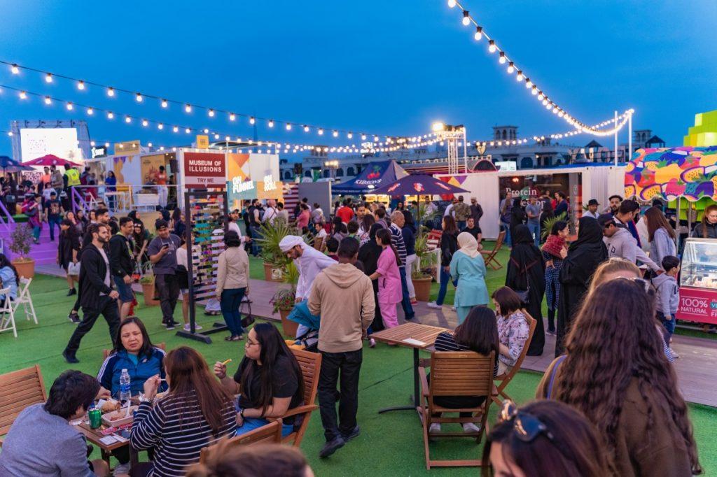 عروض وفعاليات مهرجان دبي للمأكولات خلال الأسبوع المقبل