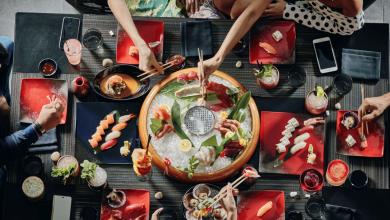 صورة مطعم كيو يقدم برنش يعكس الجوهر الحقيقي للثقافة اليابانية