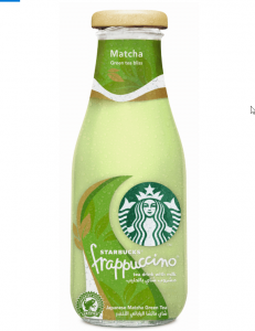 ستاربكس تضيف شاي فرابتشينو ماتشا الى خيارات مشروباتها المتنوعة