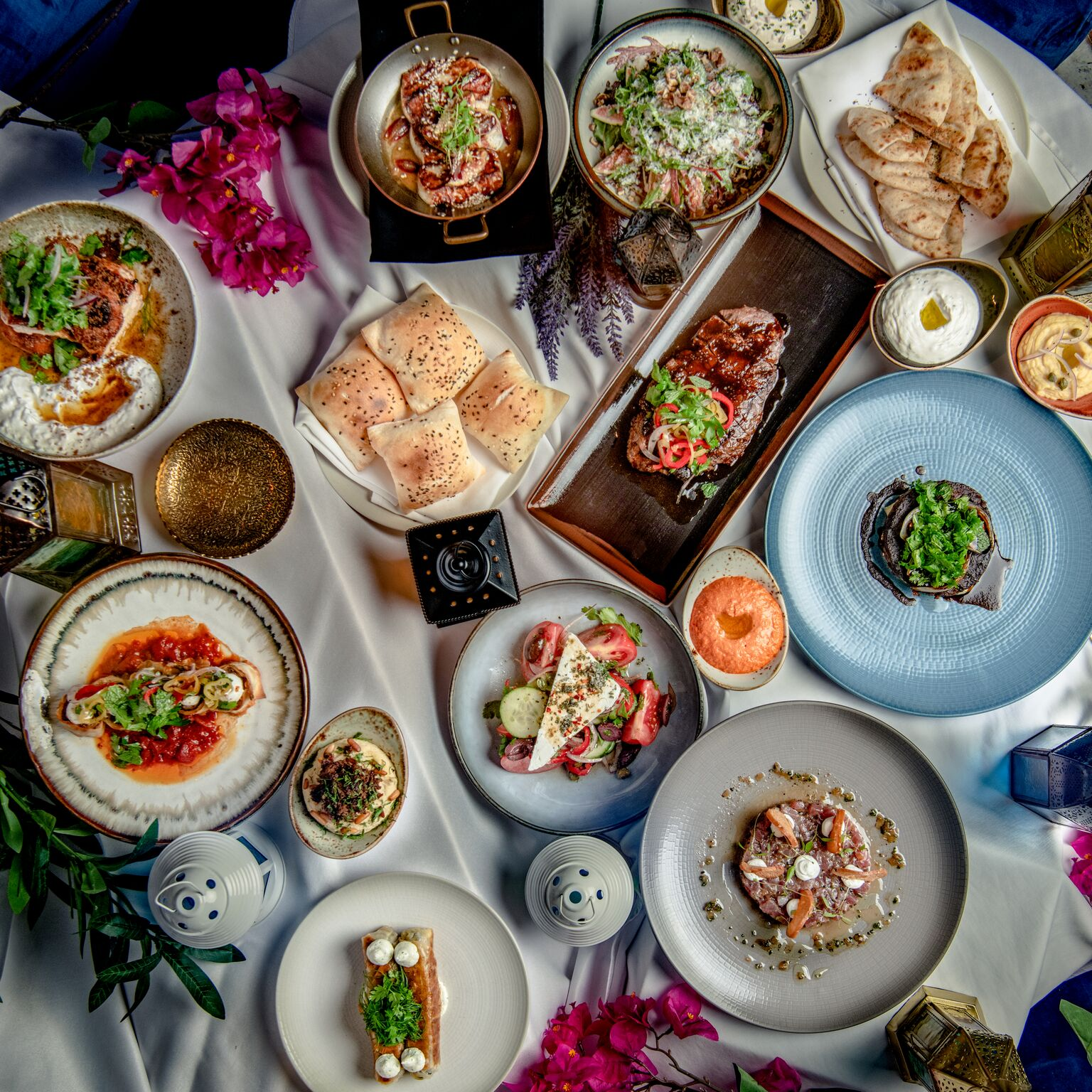مطعم أوبا يقدم تجربة طعام مُستوحاة من الجزر اليونانية خلال شهر رمضان الكريم