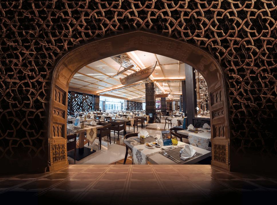 الإفطار الرمضاني في منتجع لابيتا دبي باركس آند ريزورتس