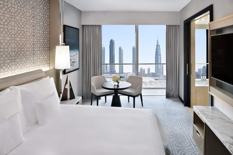 فندق العنوان دبي مول يقدم باقة عروض جديدة للزوار الخليجيين فقط