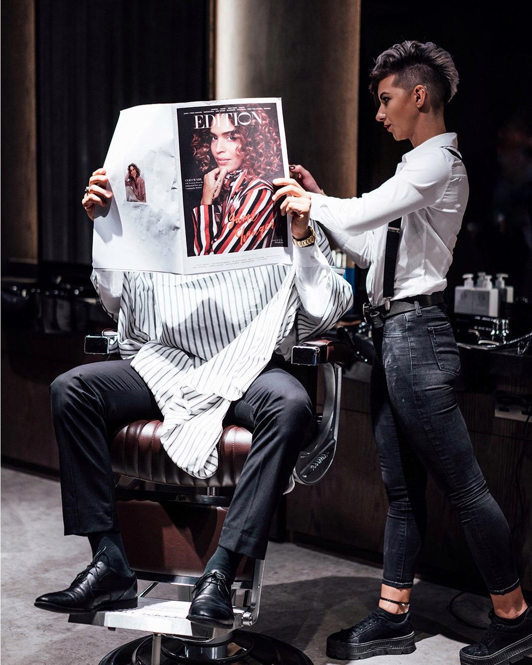 تشابس آند كو تفتتح أول صالوناتها للحلاقة الرجالية في أبوظبي