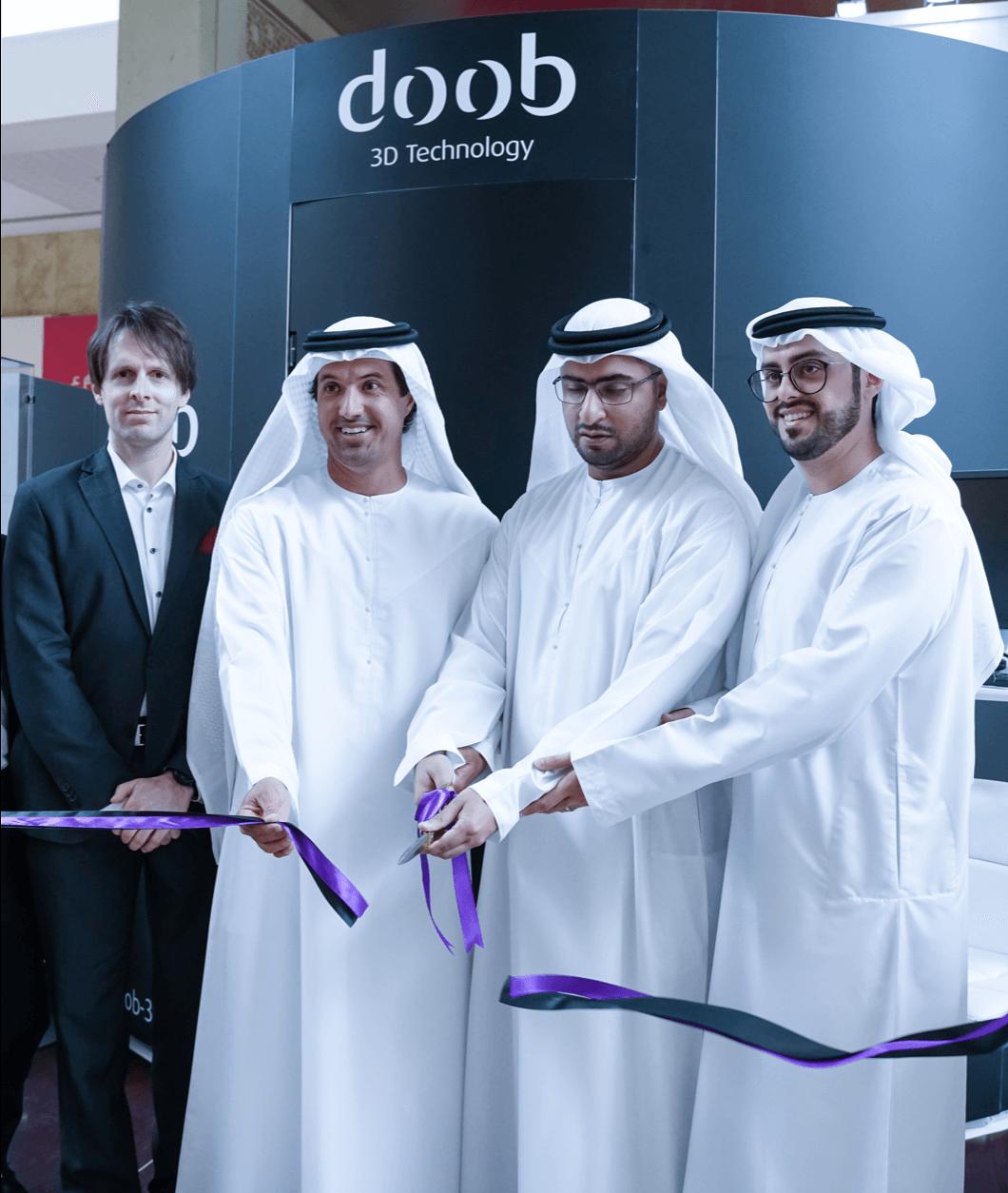 شركة اليوسف للطباعة ثلاثية الابعاد تقدم تقنية DOOB لأول مرة في الإمارات