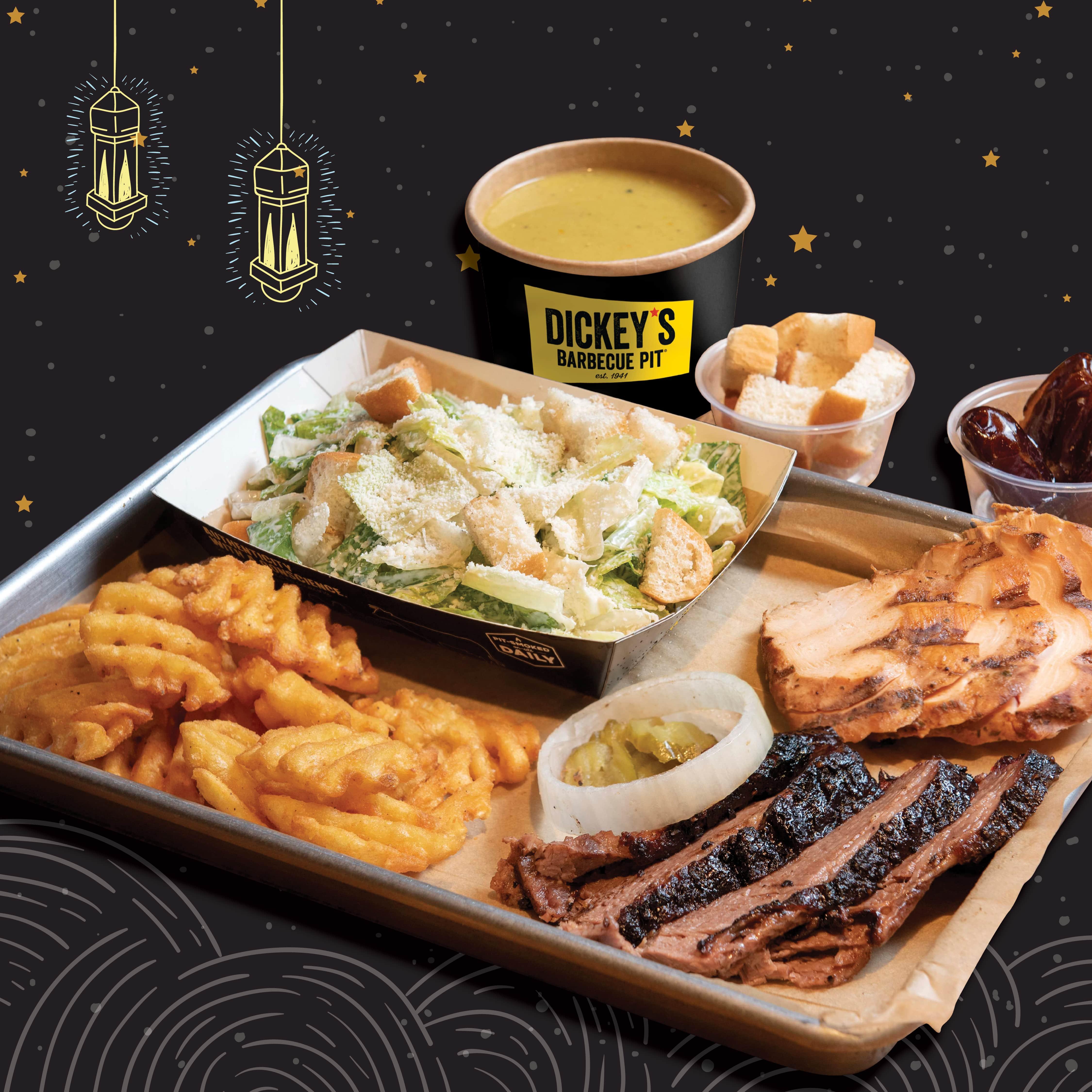 مطاعم ديكيز باربيكيو بيت دبي تقدم بوفيه إفطار رمضاني بسعر جد مناسب