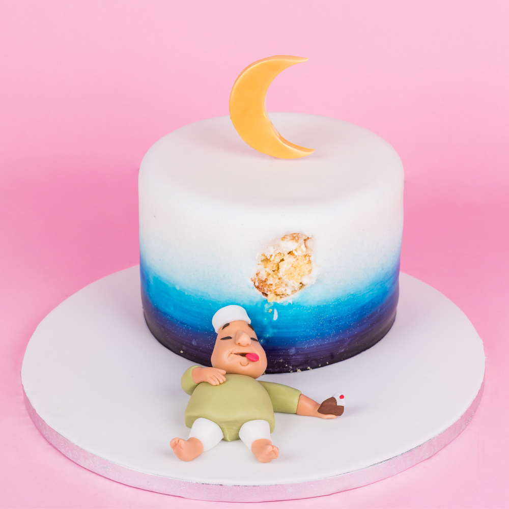 SugarMoo Customized After Iftar Cake AED 395