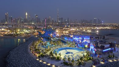 Photo of منتزه لاجونا المائي يقدم عرض رائع بمناسبة الذكرى الأولى لافتتاحه