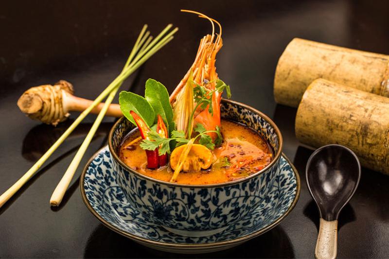 مطعم توشي الآسيوي يحتفل برأس السنة التايلندية