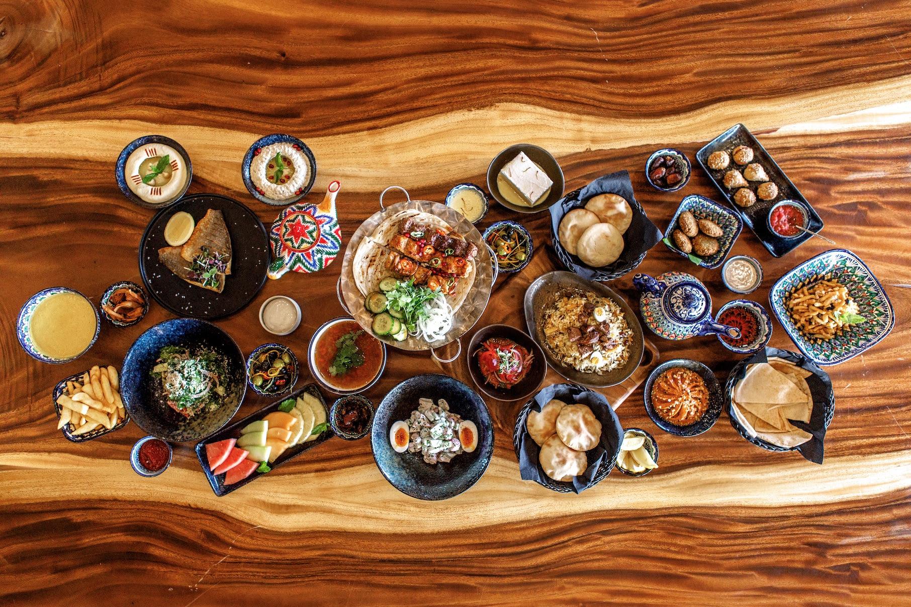 مطعم أوش يقدم قائمة إفطار أوزبكية استثنائية خلال رمضان 2019