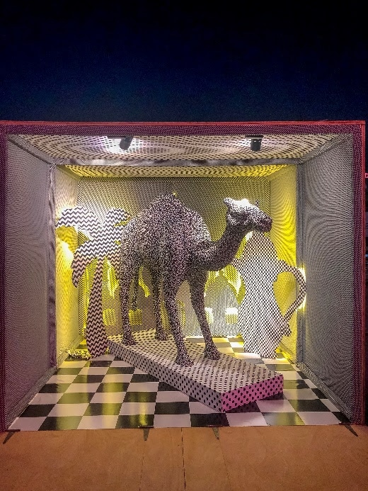 شاهدوا ابرز الإبداعات في معرض السيف طريقك إلى الفن والثقافة والتسامح