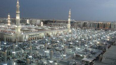 Photo of تعرف على كيف تعمل أنظمة تبريد المسجد النبوي الشريف بالمدينة المنورة