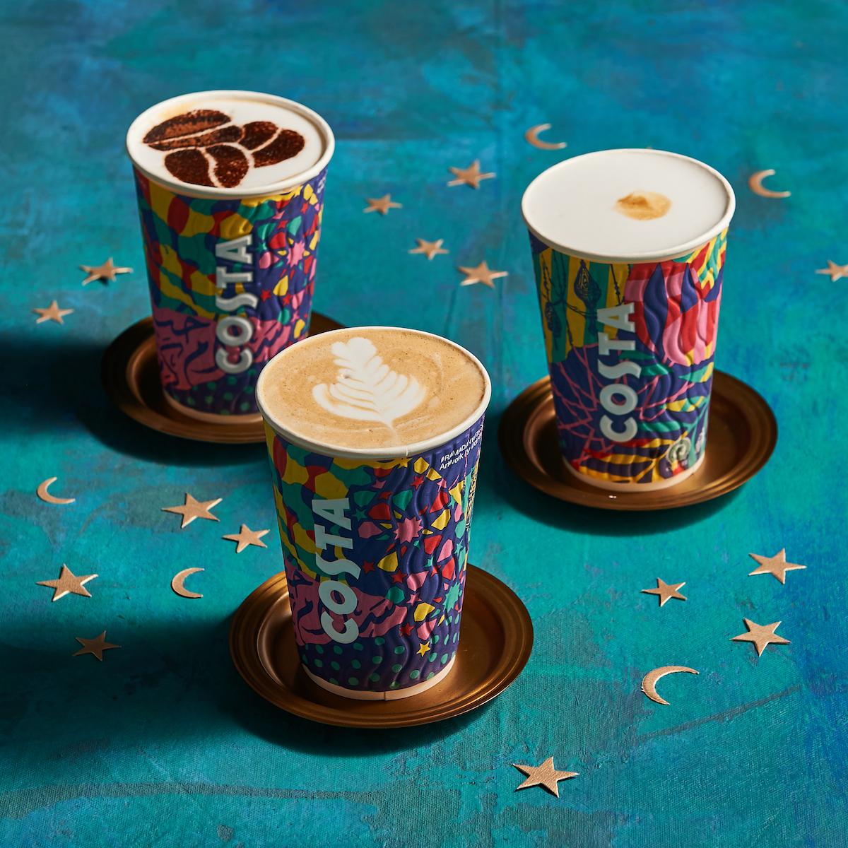 مقهى كوستا كوفي يقدم أشهى الأطايب بلمسة رمضانية طوال الشهر الفاضل