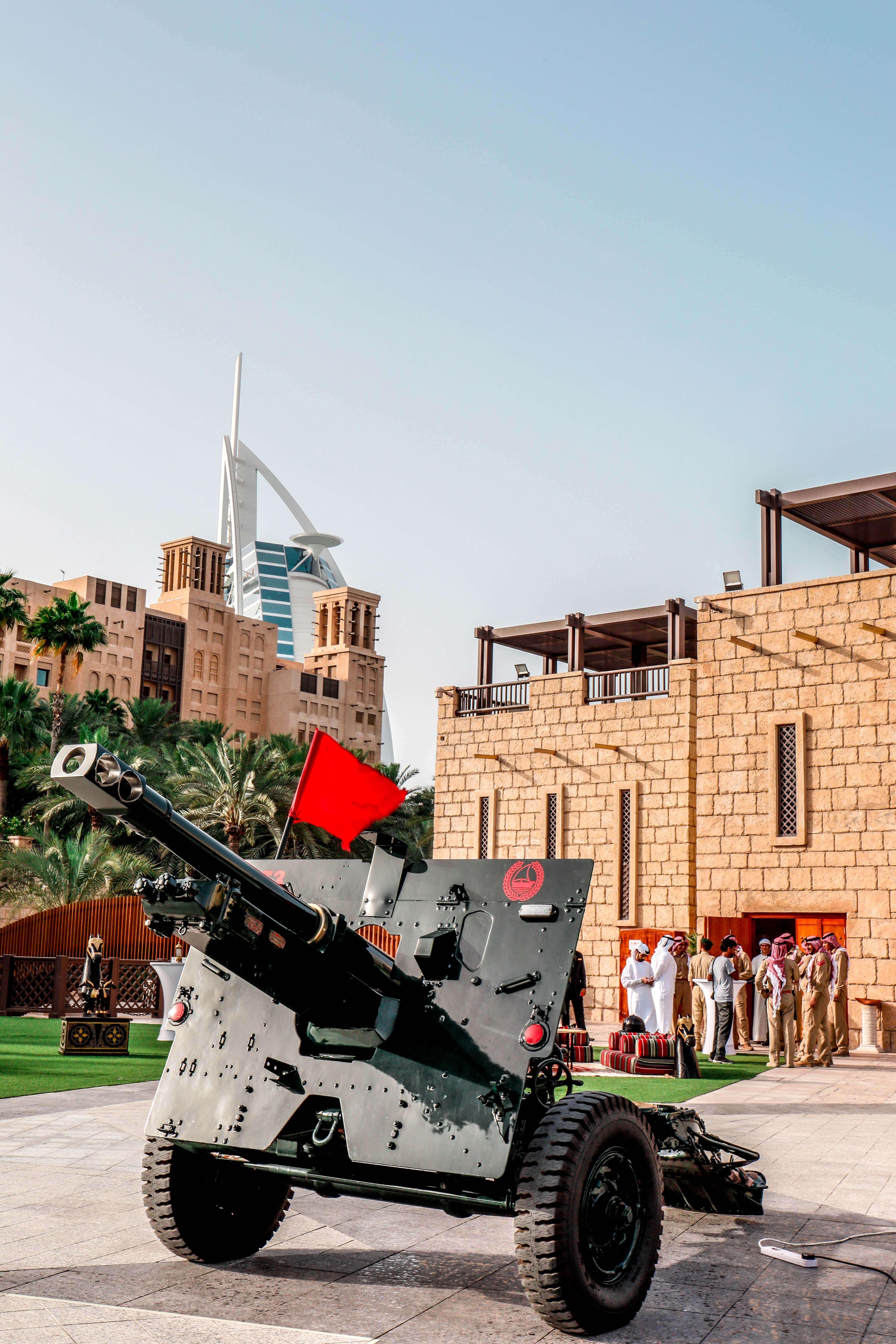 مدينة جميرا دبي تحتضن مدفع شهر رمضان الكريم 2019