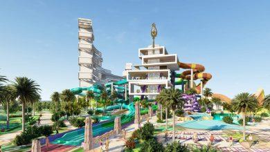صورة برج ترايدنت أحدث المرافق الترفيهية في مدينة أكوافنتشر المائية دبي