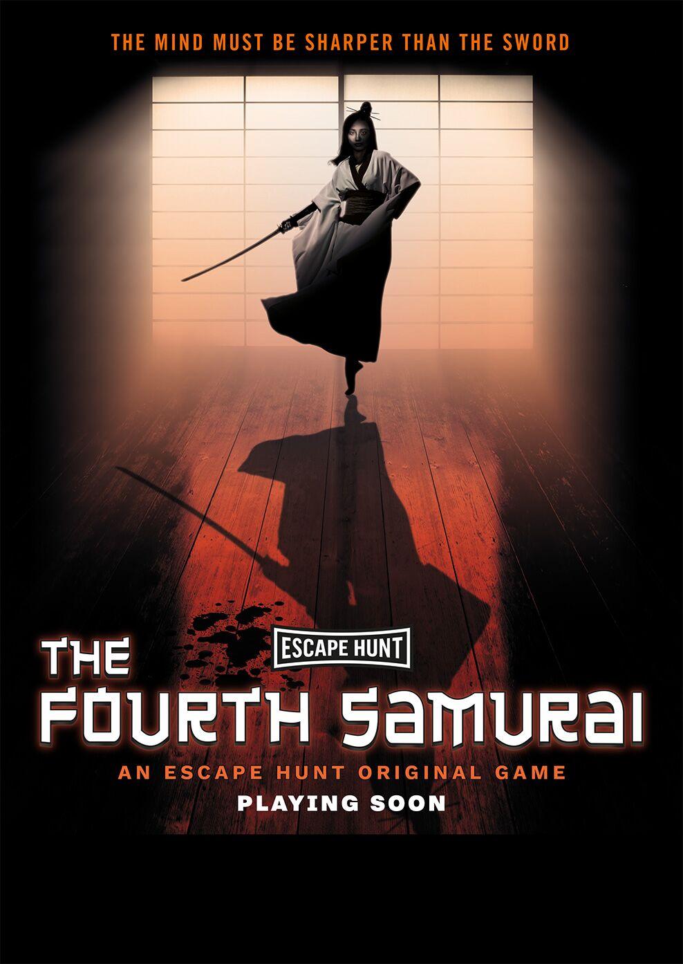 إسكايب هانت تقدّم لعبة جديدة تدعى الساموراي الرابع خلال الشهر الجاري