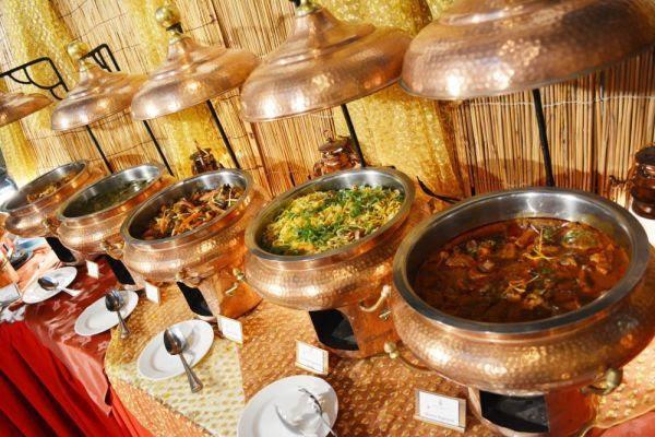 عروض الطعام في فندق وسبا أربيان كورت يارد خلال رمضان المبارك 2019