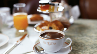 صورة مطعم ومقهى أنجيلينا يقدم لضيوفه أطايب وجبات الفطور الفرنسي