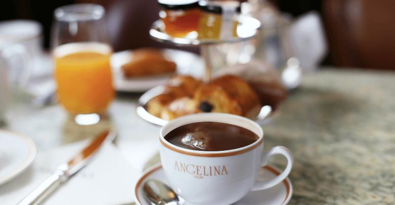 مطعم ومقهى أنجيلينا يقدم لضيوفه أطايب وجبات الفطور الفرنسي