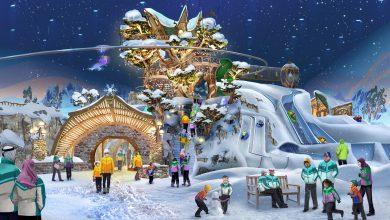 صورة قريبا إفتتاح أكبر حديقة ألعاب ثلجية مغطاة في العالم بأبوظبي
